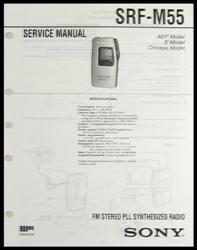 qservice electronics obsolete parts manuals for tektronix test rh qservice tv sony srf-m55 manual español Sony Srf M97